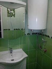 Монтаж на бойлер и мивка в баня